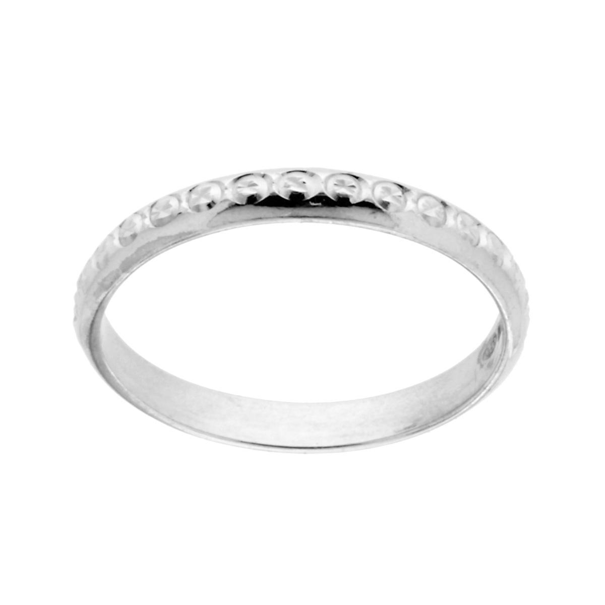 molto carino e0b40 be901 Anello Fedina di Fidanzamento Lui e Lei Diamantata in ARGENTO 925 Rodiato  12537